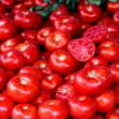 Red ripe tomatoes — Stock Photo
