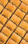 Delicious Turkish sweet baklava. — Stock Photo