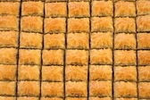 Turkish baklava — Stock Photo