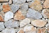 Gerçek taş duvar. — Stok fotoğraf