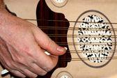 Liuto. strumento musicale turco e arabo — Foto Stock