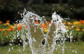 всплеск воды — Стоковое фото