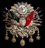 土耳其老奥托曼帝国国徽 — 图库照片