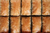 Delicious Turkish sweet baklava. — Стоковое фото