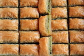 Turkish baklava. — Stockfoto