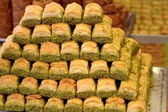 Turkish baklava — Stock Photo