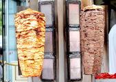 Turkish doner kebab — Stock Photo