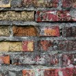 Stockfoto: Aged brick wall texture