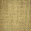 Flax burlap texture background — Stock Photo