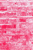 Red brick wall textute background — Stock Photo