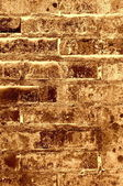 古いれんが造りの壁テクスチャ - ブラウン — ストック写真