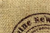 Linen burlap texture — Stock Photo