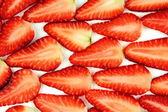 Sliced Strawberries — Stock Photo