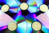 Compact disk, dvd, cd, CD rom — Stock Photo