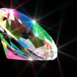Stock Photo: Colorful diamond