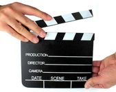 Movie Directors Clap Board — Stock Photo