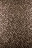 Bruin leder texture voor achtergrond — Stockfoto