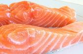 Salmon fillet — Foto Stock