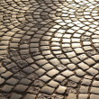 Road paving stones - Stock Photo