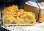 Delicious apple tart — Stock Photo
