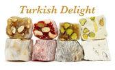 Delicious Turkish delight — Stock Photo