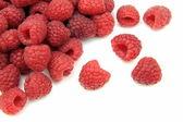 Fresh raspberries — Stock Photo