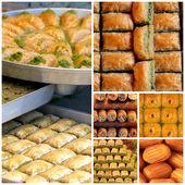 Turkish sweets - — Stockfoto