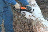 Chainsaw — Stockfoto