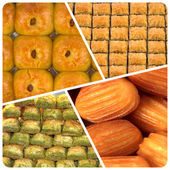 Turkish sweets — Stock Photo