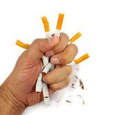 сломанной сигареты — Стоковое фото