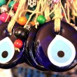 Turkish superstition evil eye beads — Stock Photo