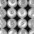 Aluminum drink cans — Stock Photo