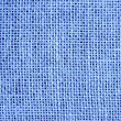 Stock Photo: Blue Burlap texture