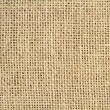 Flax burlap texture — Stock Photo