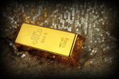 Gold bar — Stock Photo