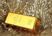 Gold bar — Foto de Stock