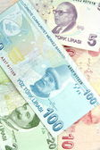 Turkish banknotes — Stock Photo