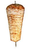 Turkish chicken doner kebab — Stock Photo