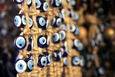 Turkish superstition evil eye beads — ストック写真