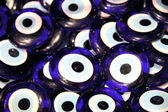 Turkish superstition evil eye beads — 图库照片