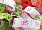 Various measuring tape. — Stock Photo
