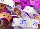 Medida de fita várias — Foto Stock