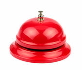 Red service bell — Stockfoto