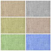 Текстильные стола — Стоковое фото
