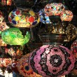 Turkish decorative colorful lamps . — Stock Photo