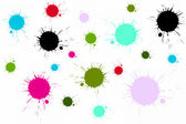 Colorful splatter — Stock Photo