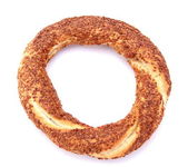 Turkish traditional sesame bagel. ( Simit ) — Stock Photo