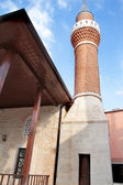 Kopuły meczetu, minaret i alems — Zdjęcie stockowe