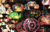 Turkish decorative colorful lamps . — Стоковое фото