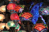 Turkish colorful lamps . — Stock Photo
